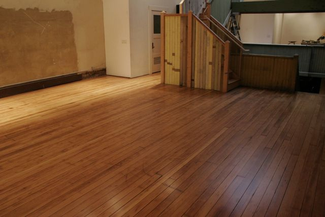 Refinished industrial fir-natural after.