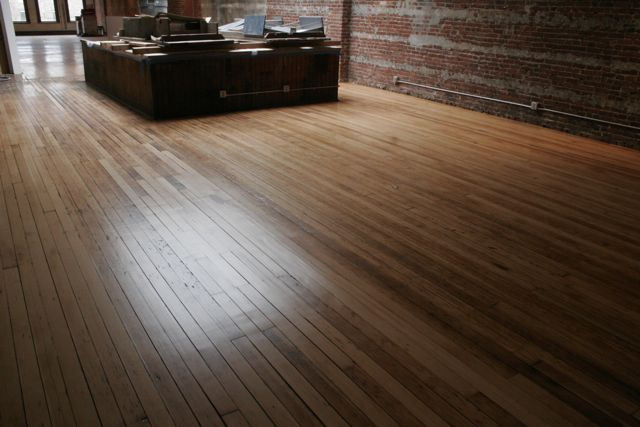 Refinished industrial fir-natural.